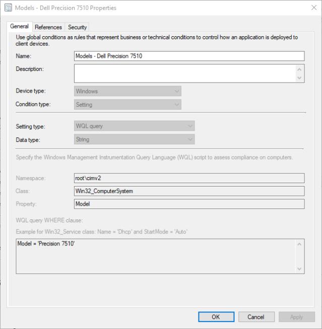 Updating Dell BIOS via ConfigMgr Application Model – Deployables